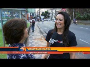 Calçada Cilada no Bom Dia Brasil