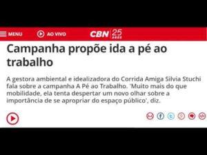 CBN - #APéAoTrabalho