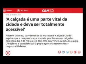 CBN - CalçadaCilada
