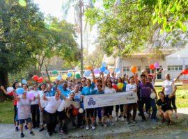 Caminhada pela Mobilidade Urbana com as idosas/os do CRI