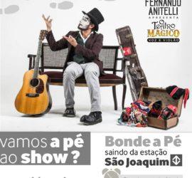 Bondes a Pé – Fernando Anitelli | O Teatro Mágico – Voz & Violão