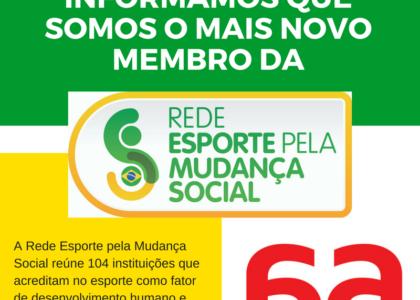 Corrida Amiga agora faz parte da REMS – Rede Esporte pela Mudança Social