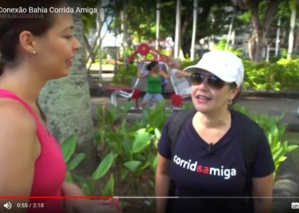 Corrida Amiga ne telinha <3 TV Globo Bahia
