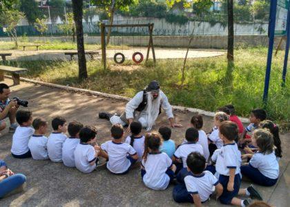 Bonde Cultural a Pé – projeto que leva cidadania, arte e qualidade de vida para as crianças por meio do caminhar