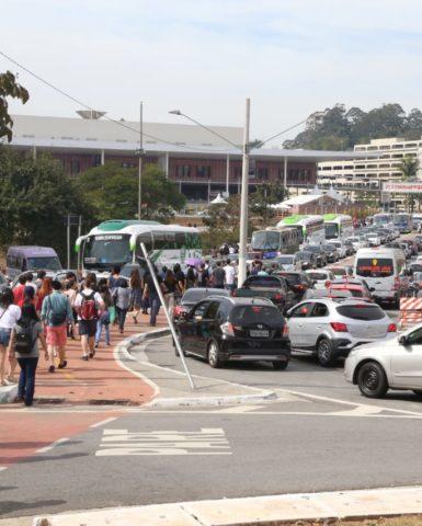 Bondes a Pé no Festival do Japão levam mais de onze mil pessoas ao São Paulo Expo
