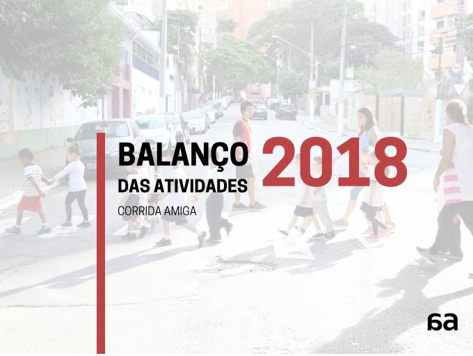 Balanço das Atividades Voluntárias 2018